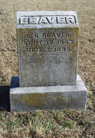 BEAVER, L. C. - Benton County, Arkansas | L. C. BEAVER - Arkansas Gravestone Photos