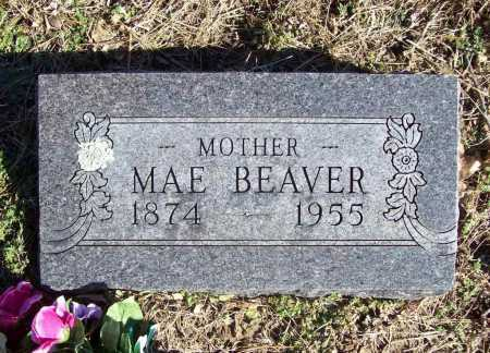 BEAVER, MAE - Benton County, Arkansas | MAE BEAVER - Arkansas Gravestone Photos