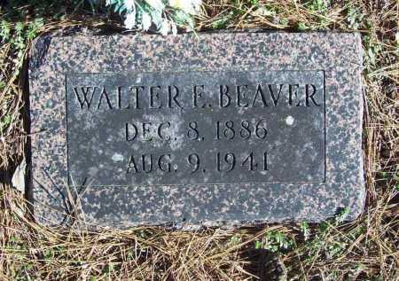 BEAVER, WALTER E. - Benton County, Arkansas | WALTER E. BEAVER - Arkansas Gravestone Photos