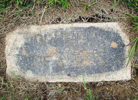 BEAVERS, OPHELIA - Benton County, Arkansas   OPHELIA BEAVERS - Arkansas Gravestone Photos