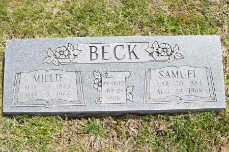 BECK, SAMUEL - Benton County, Arkansas | SAMUEL BECK - Arkansas Gravestone Photos