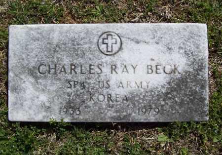 BECK (VETERAN KOR), CHARLES RAY - Benton County, Arkansas | CHARLES RAY BECK (VETERAN KOR) - Arkansas Gravestone Photos