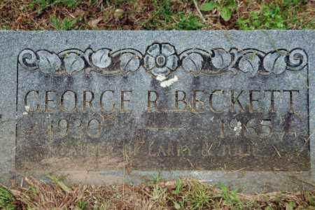 BECKETT, GEORGE R. - Benton County, Arkansas | GEORGE R. BECKETT - Arkansas Gravestone Photos