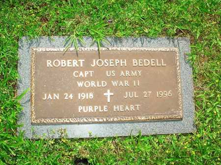 BEDELL (VETERAN WWII), ROBERT JOSEPH - Benton County, Arkansas | ROBERT JOSEPH BEDELL (VETERAN WWII) - Arkansas Gravestone Photos