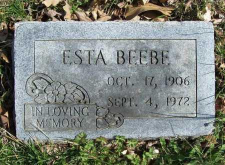 BEEBE, ESTA PEARL - Benton County, Arkansas | ESTA PEARL BEEBE - Arkansas Gravestone Photos