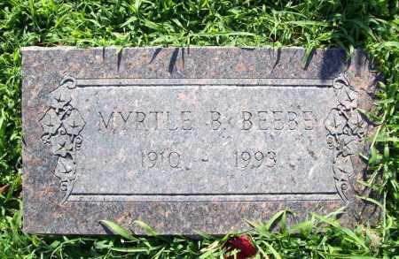 BEEBE, MYRTLE B. - Benton County, Arkansas | MYRTLE B. BEEBE - Arkansas Gravestone Photos