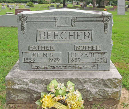 BEECHER, ELIZABETH - Benton County, Arkansas | ELIZABETH BEECHER - Arkansas Gravestone Photos