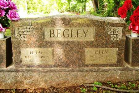 BEGLEY, HOPE - Benton County, Arkansas | HOPE BEGLEY - Arkansas Gravestone Photos
