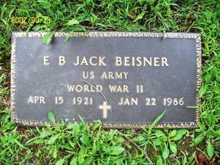 BEISNER (VETERAN WWII), E. B. JACK - Benton County, Arkansas | E. B. JACK BEISNER (VETERAN WWII) - Arkansas Gravestone Photos