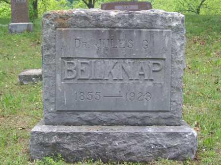 BELKNAP, DR. JULES G. - Benton County, Arkansas | DR. JULES G. BELKNAP - Arkansas Gravestone Photos