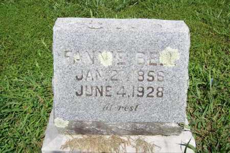 BELL, FANNIE - Benton County, Arkansas | FANNIE BELL - Arkansas Gravestone Photos