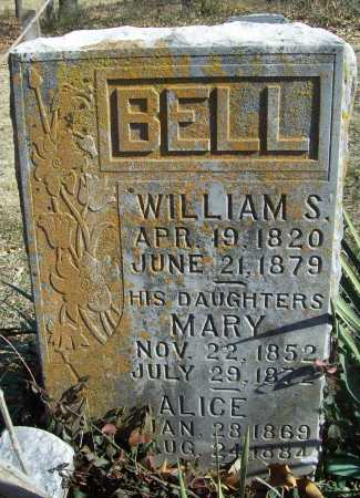 BELL, WILLIAM S - Benton County, Arkansas | WILLIAM S BELL - Arkansas Gravestone Photos