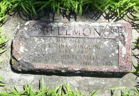 YINGLING BELLMON, LOVINA - Benton County, Arkansas | LOVINA YINGLING BELLMON - Arkansas Gravestone Photos