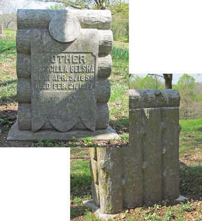 BELSHA, PRISCILLA - Benton County, Arkansas | PRISCILLA BELSHA - Arkansas Gravestone Photos