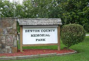 *BENTON COUNTY MEMORIAL PARK,  - Benton County, Arkansas |  *BENTON COUNTY MEMORIAL PARK - Arkansas Gravestone Photos