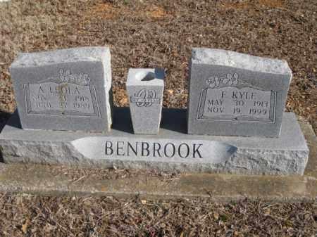 BENBROOK, FLOYD KYLE - Benton County, Arkansas | FLOYD KYLE BENBROOK - Arkansas Gravestone Photos