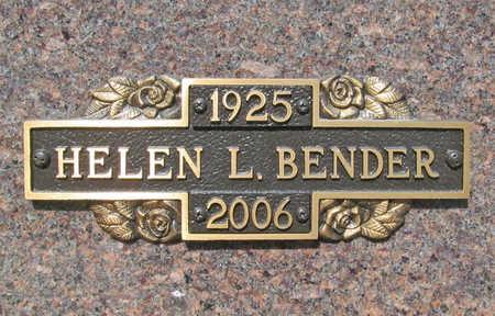 BENDER, HELEN LOUISE - Benton County, Arkansas | HELEN LOUISE BENDER - Arkansas Gravestone Photos