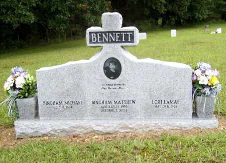 BENNETT, BINGHAM MATTHEW - Benton County, Arkansas | BINGHAM MATTHEW BENNETT - Arkansas Gravestone Photos