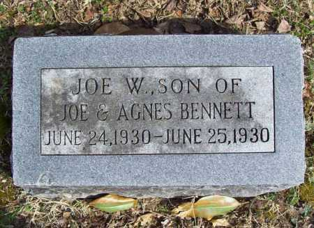 BENNETT, JOE W. - Benton County, Arkansas | JOE W. BENNETT - Arkansas Gravestone Photos