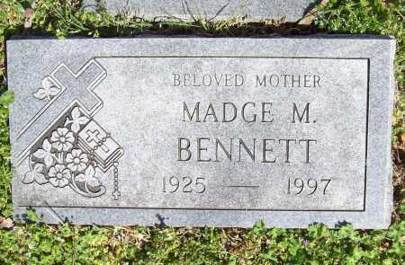 BENNETT, MADGE M. - Benton County, Arkansas | MADGE M. BENNETT - Arkansas Gravestone Photos