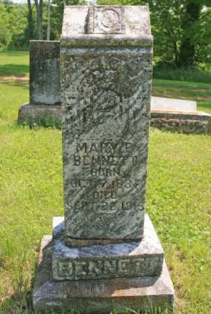 BENNETT, MARY E. - Benton County, Arkansas | MARY E. BENNETT - Arkansas Gravestone Photos