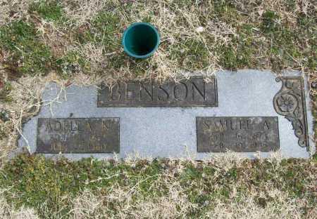 BENSON, SAMUEL A. - Benton County, Arkansas | SAMUEL A. BENSON - Arkansas Gravestone Photos