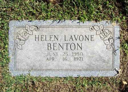 BENTON, HELEN LAVONE - Benton County, Arkansas | HELEN LAVONE BENTON - Arkansas Gravestone Photos