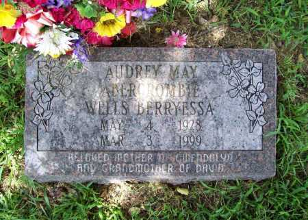 ABERCROMBIE BERRYESSA, AUDREY MAY - Benton County, Arkansas | AUDREY MAY ABERCROMBIE BERRYESSA - Arkansas Gravestone Photos