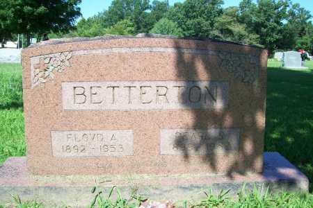 BETTERTON, FLOYD A. - Benton County, Arkansas | FLOYD A. BETTERTON - Arkansas Gravestone Photos