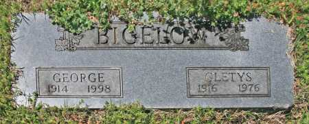BIGELOW, GEORGE - Benton County, Arkansas | GEORGE BIGELOW - Arkansas Gravestone Photos