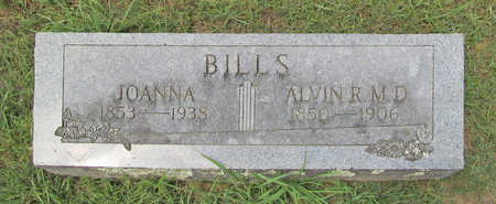 BILLS, ALVIN ROBY M D - Benton County, Arkansas | ALVIN ROBY M D BILLS - Arkansas Gravestone Photos
