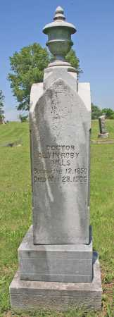 BILLS, ALVIN ROBY DR (ORIGINAL) - Benton County, Arkansas | ALVIN ROBY DR (ORIGINAL) BILLS - Arkansas Gravestone Photos