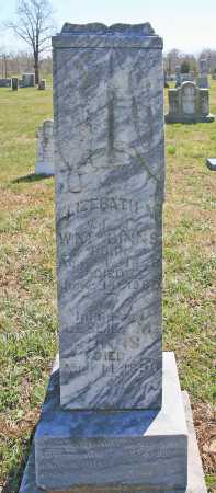 "BINNS, ELIZABETH M. ""LIZZIE"" - Benton County, Arkansas | ELIZABETH M. ""LIZZIE"" BINNS - Arkansas Gravestone Photos"