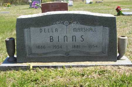 BINNS, MARSHALL - Benton County, Arkansas | MARSHALL BINNS - Arkansas Gravestone Photos