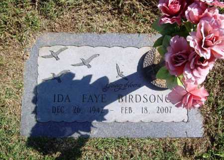 BIRDSONG, IDA FAYE - Benton County, Arkansas | IDA FAYE BIRDSONG - Arkansas Gravestone Photos