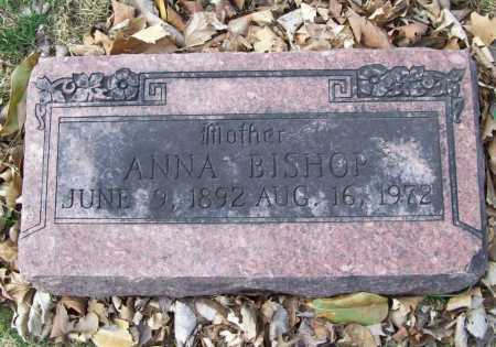 JOHNSON BISHOP, ANNA - Benton County, Arkansas | ANNA JOHNSON BISHOP - Arkansas Gravestone Photos