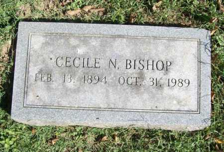 BISHOP, CECILE N. - Benton County, Arkansas | CECILE N. BISHOP - Arkansas Gravestone Photos