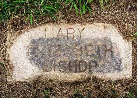 BISHOP, MARY ELIZABETH - Benton County, Arkansas | MARY ELIZABETH BISHOP - Arkansas Gravestone Photos