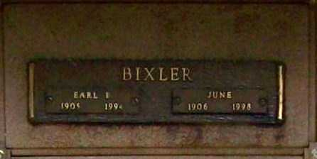 BIXLER, EARL B. - Benton County, Arkansas | EARL B. BIXLER - Arkansas Gravestone Photos