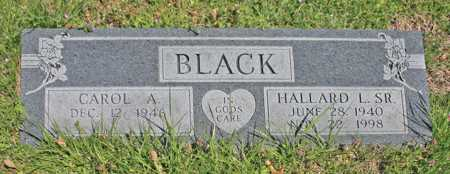 BLACK, HALLARD L. SR. - Benton County, Arkansas | HALLARD L. SR. BLACK - Arkansas Gravestone Photos
