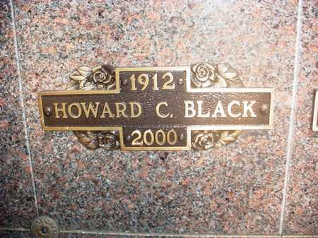 BLACK, HOWARD CHARLES - Benton County, Arkansas | HOWARD CHARLES BLACK - Arkansas Gravestone Photos