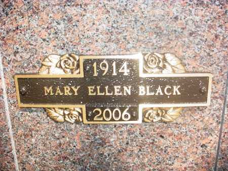 BLACK, MARY ELLEN - Benton County, Arkansas | MARY ELLEN BLACK - Arkansas Gravestone Photos