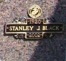 BLACK, STANLEY J. - Benton County, Arkansas | STANLEY J. BLACK - Arkansas Gravestone Photos