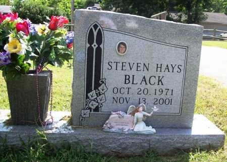 BLACK, STEVEN HAYS - Benton County, Arkansas | STEVEN HAYS BLACK - Arkansas Gravestone Photos
