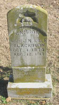 BLACKBURN, CAMRON - Benton County, Arkansas | CAMRON BLACKBURN - Arkansas Gravestone Photos