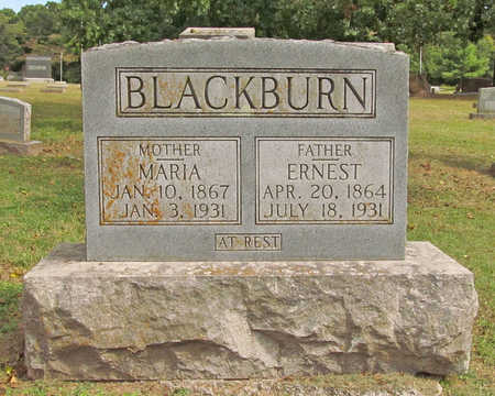 BLACKBURN, MARIA - Benton County, Arkansas | MARIA BLACKBURN - Arkansas Gravestone Photos
