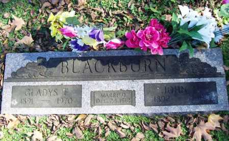 BLACKBURN, JOHN H. - Benton County, Arkansas | JOHN H. BLACKBURN - Arkansas Gravestone Photos