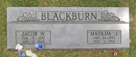 BLACKBURN, JACOB W - Benton County, Arkansas   JACOB W BLACKBURN - Arkansas Gravestone Photos