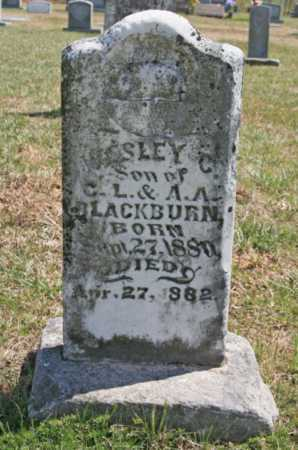 BLACKBURN, WESLEY C. - Benton County, Arkansas | WESLEY C. BLACKBURN - Arkansas Gravestone Photos