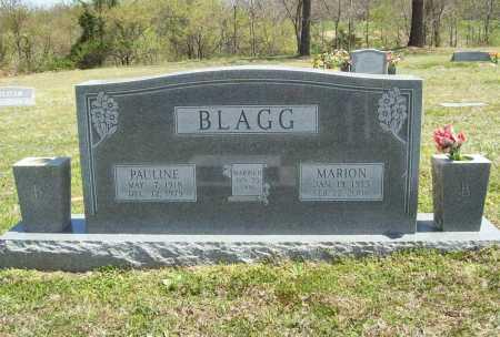 ALLEN BLAGG, PAULINE LOLA - Benton County, Arkansas | PAULINE LOLA ALLEN BLAGG - Arkansas Gravestone Photos